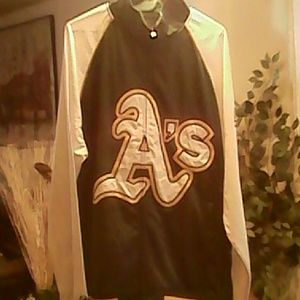 Oakland A's jacket size-XLT